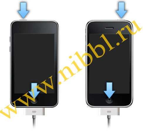 в dfu режим ввести iPhone
