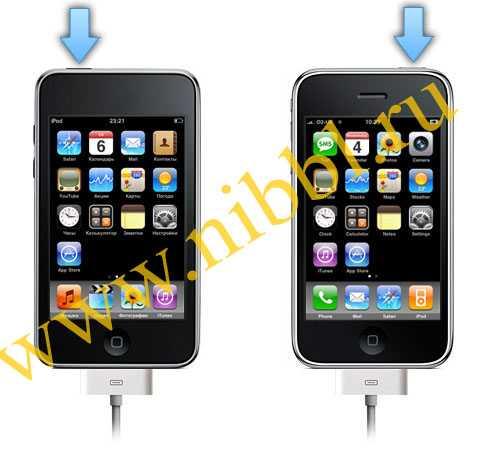 как ввести iPod в dfu режим