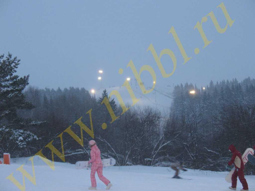горнолыжный курорт в Ижевске на Чекериле