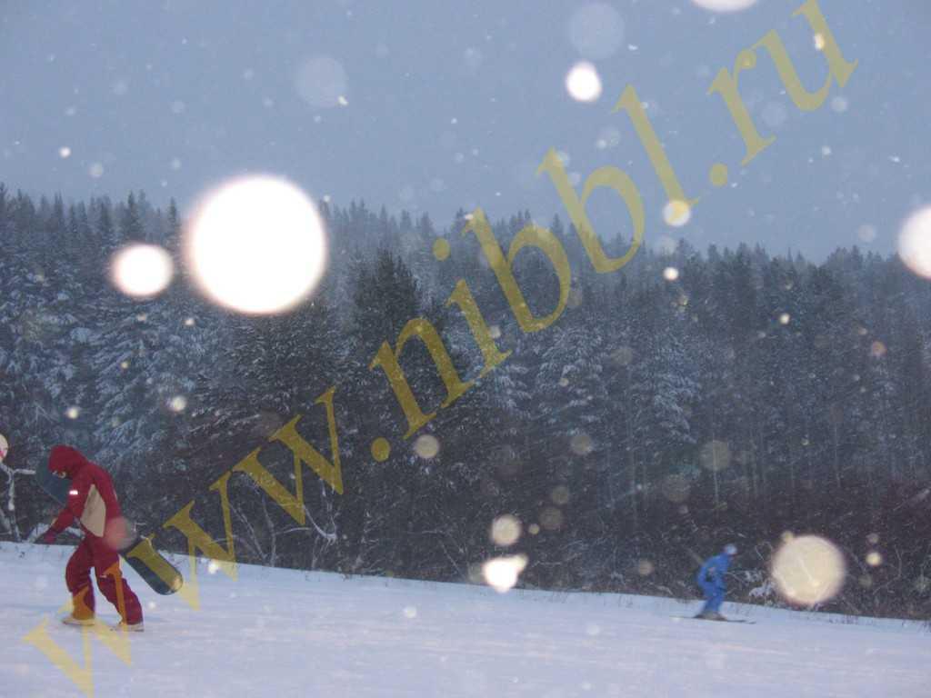 Чекерил - горнолыжный курорт в Ижевске