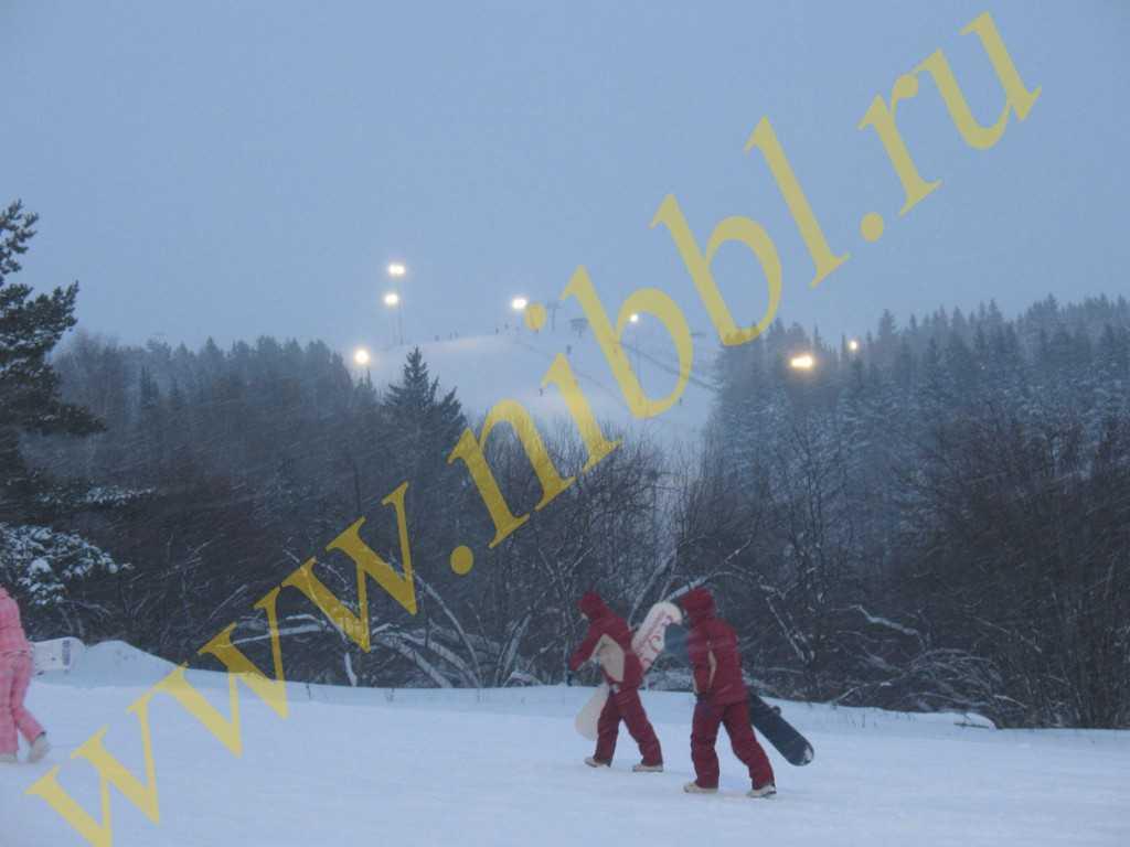 В Ижевске зимой можно отдохнуть на горнолыжном курорте Чекерила