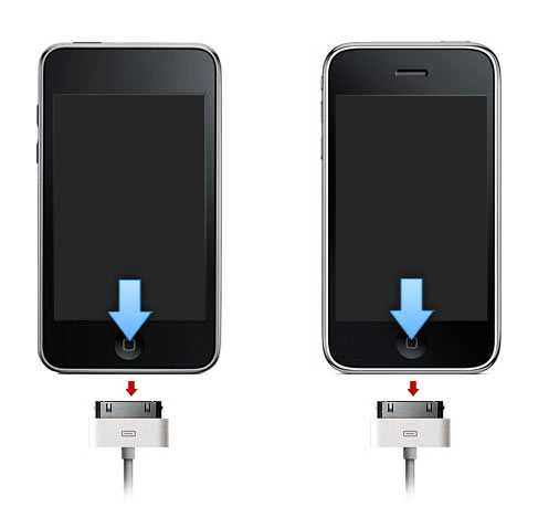 Вывести iPhone из Recovery Mode