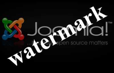 joomla watermark