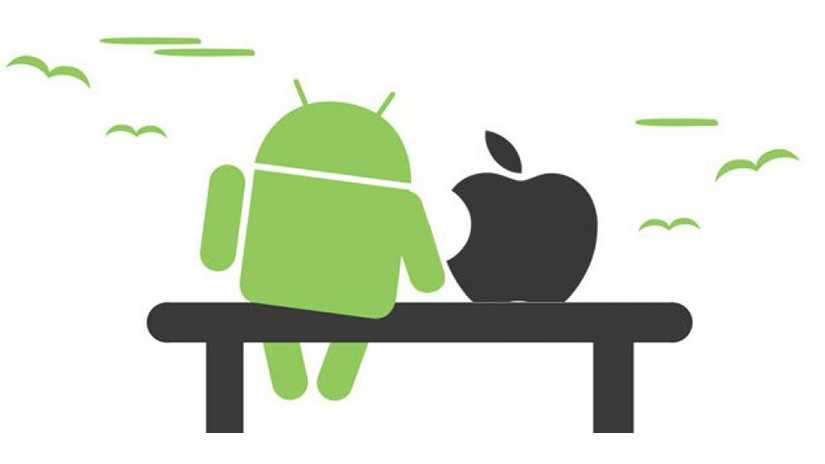 перенос контактов с андройда на айфон