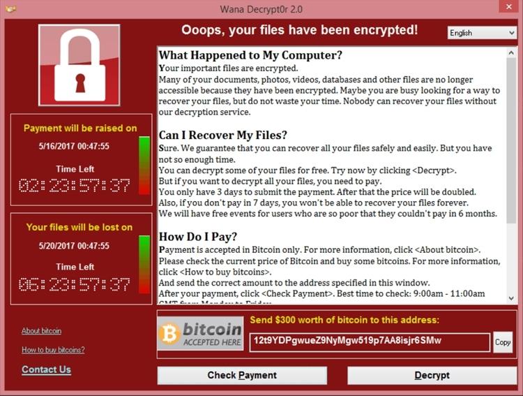 Защита от вируса шифровальщика