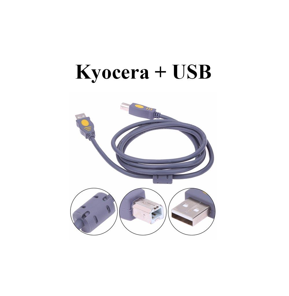 kyocera сканирование через usb