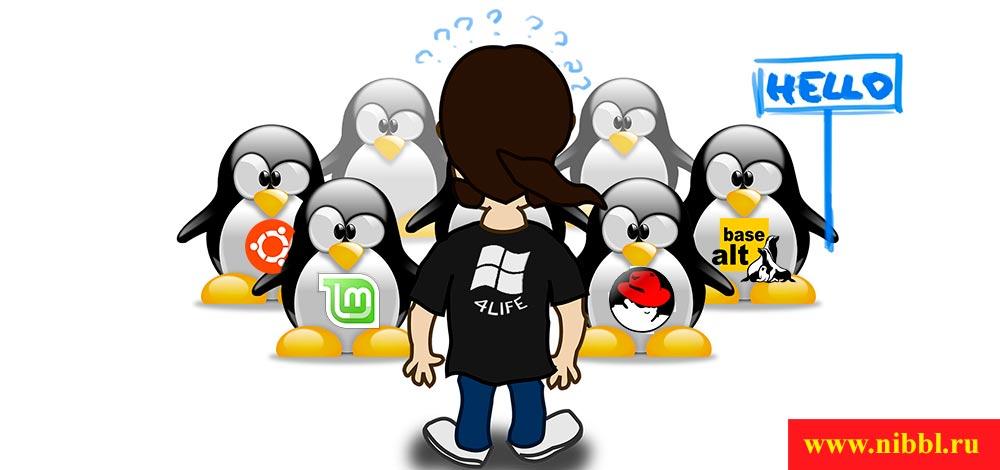 какой выбрать linux в организацию