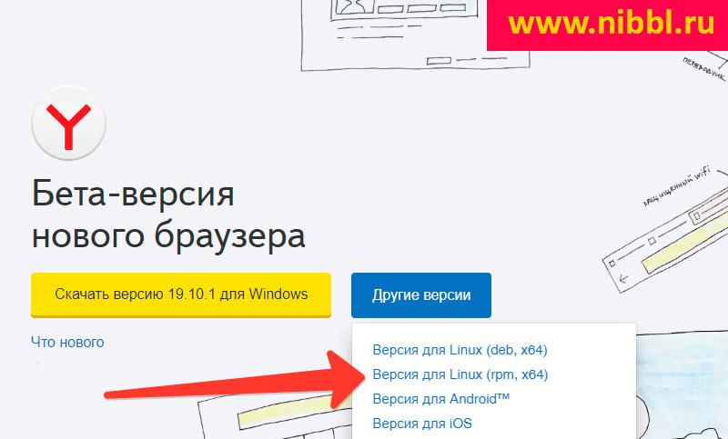 Установка Яндекс Браузера в Linux