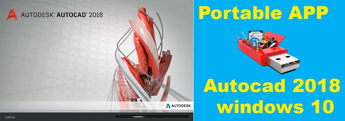 запуск portable autocad на windows 10