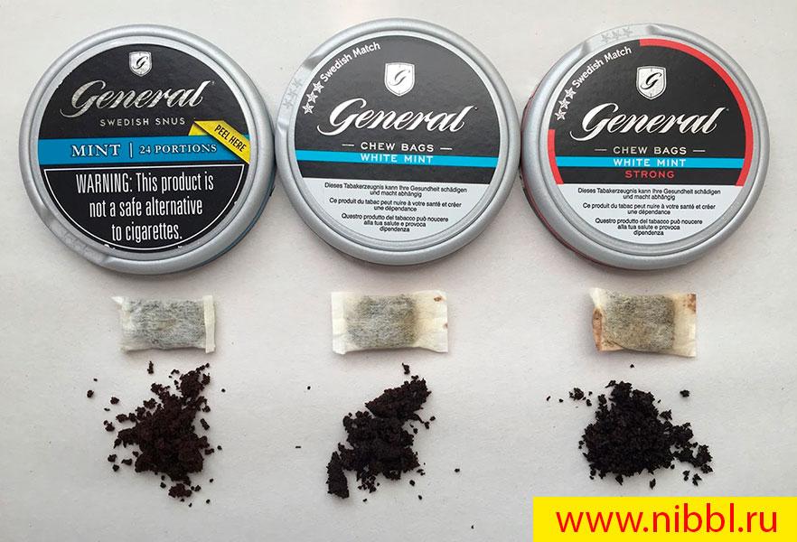 какие бывают разновидности табачного снюса