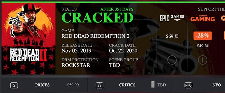 RED DEAD REDEMPTION 2 взломали 22.10.2020 года!