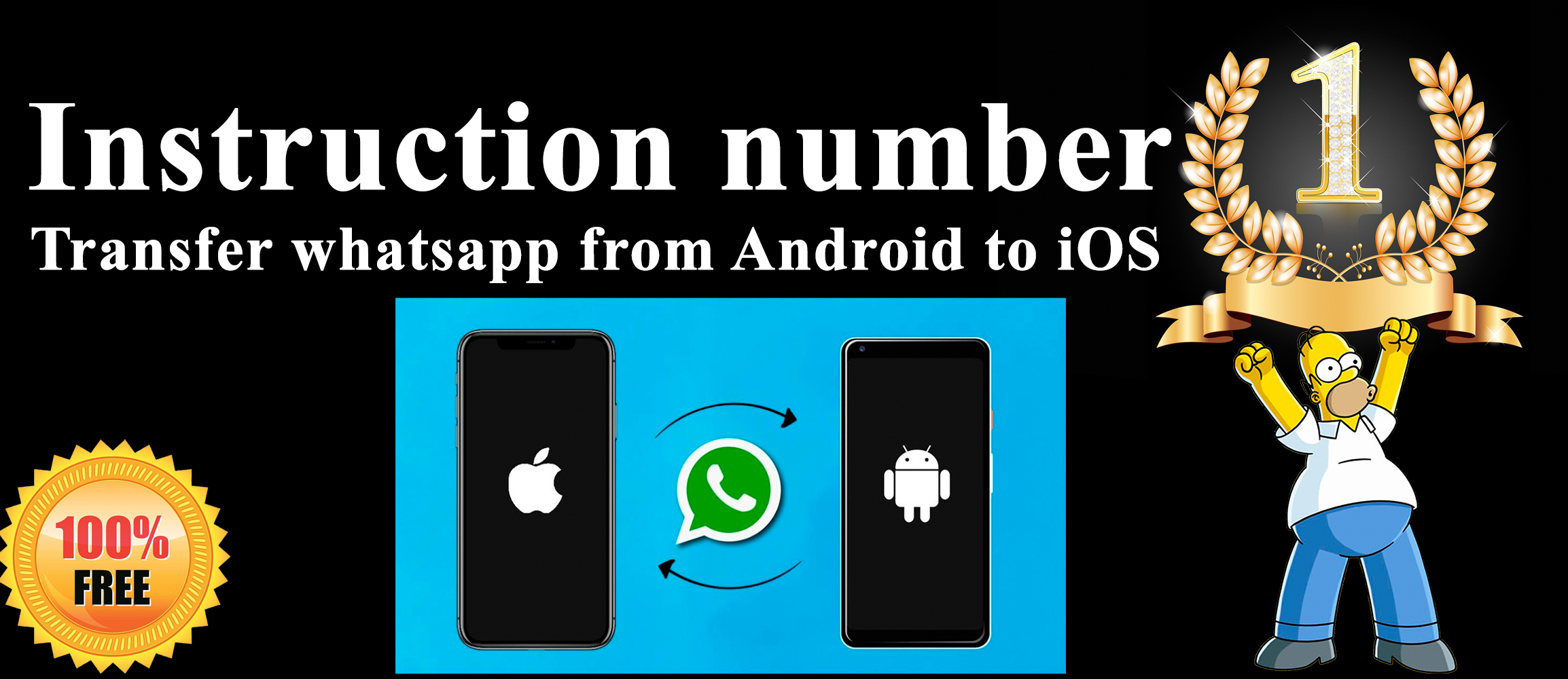transfer whatsapp from Android to iOS