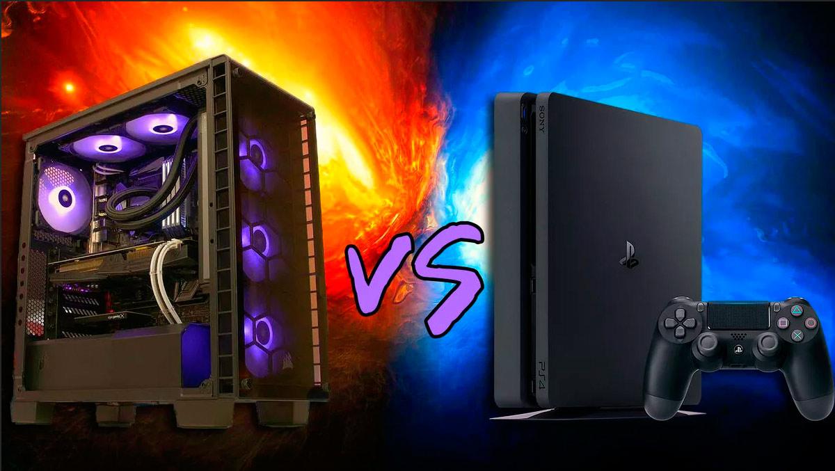 Сравнение компьютера и игровой приставки