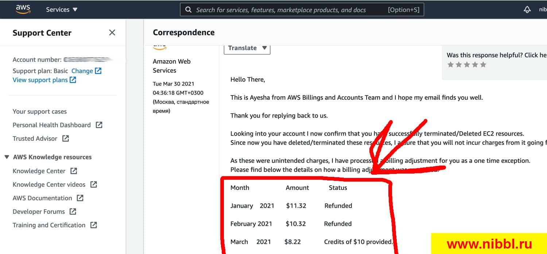 amazon возврат денег