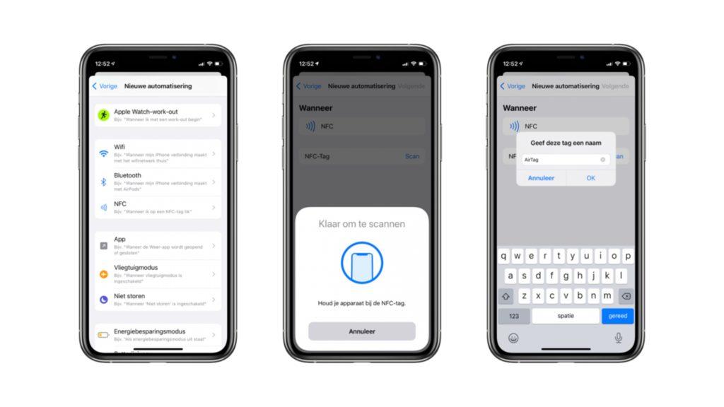 AirTag можно использовать в качестве тега NFC