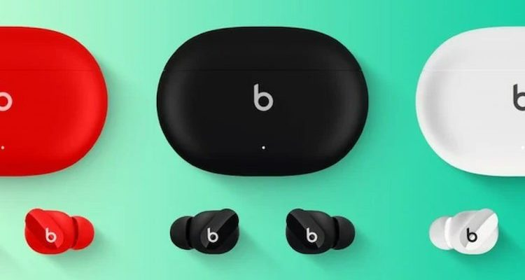 новые беспроводные наушники от apple - Beats Studio Buds