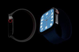 новые часы от Apple Watch Series 7