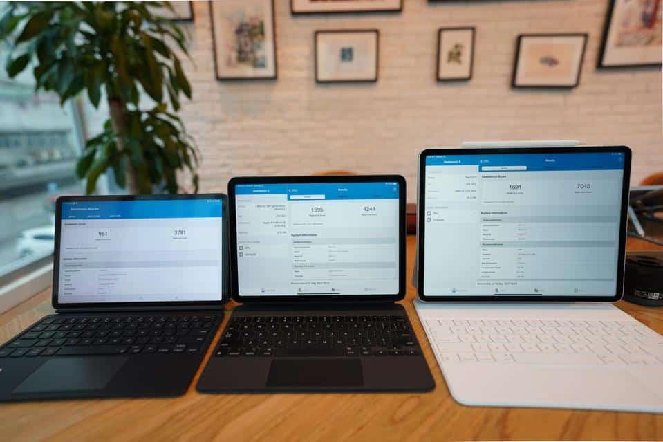 производительность iPad M1