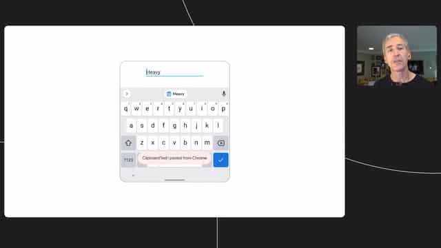 android 12 доступе к буферу обмена