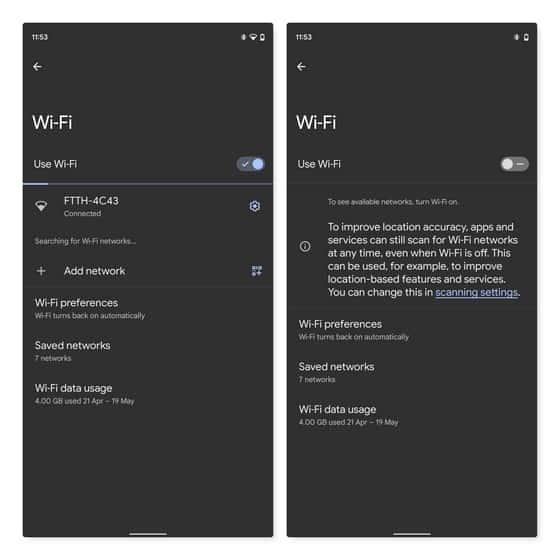 android 12 Обновленное приложение настроек