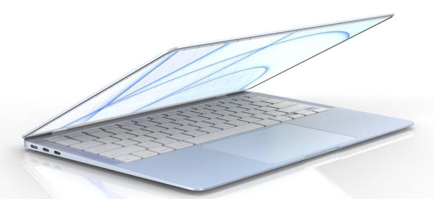 MacBook на процессоре M2 на WWDC 2021