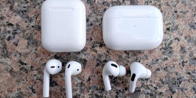 Apple AirPod и AirPod PRO отличие
