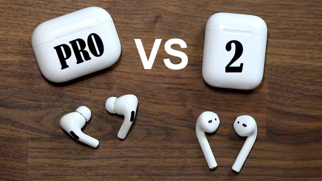какие выбрать беспроводные наушники AirPods Pro или AirPods 2