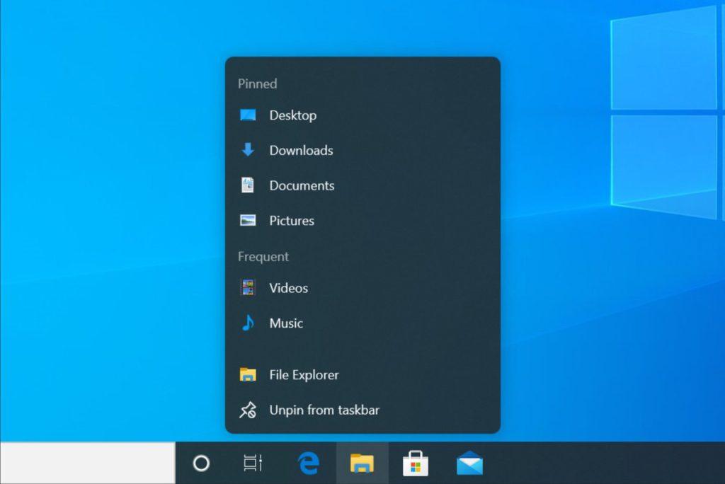 Что нового в Windows 10 Sun Valley