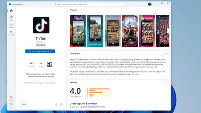 windows 11 запуск приложений Андройд