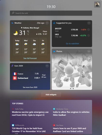 windows 11 появятся новые виджеты