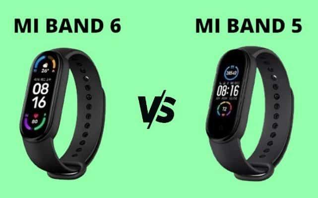 отличие между 5 и 6 Mi Band