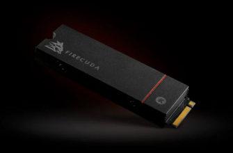 SSD FireCuda 530 с радиатором для ПК и консолей